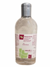 Dessavon+ (200ml), gel désinfectant pour les mains