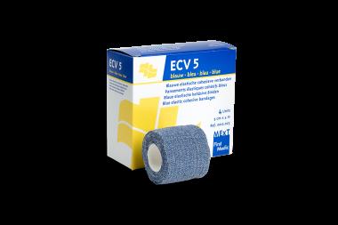 ECV5 bleu, pansement élastique cohésif bleu